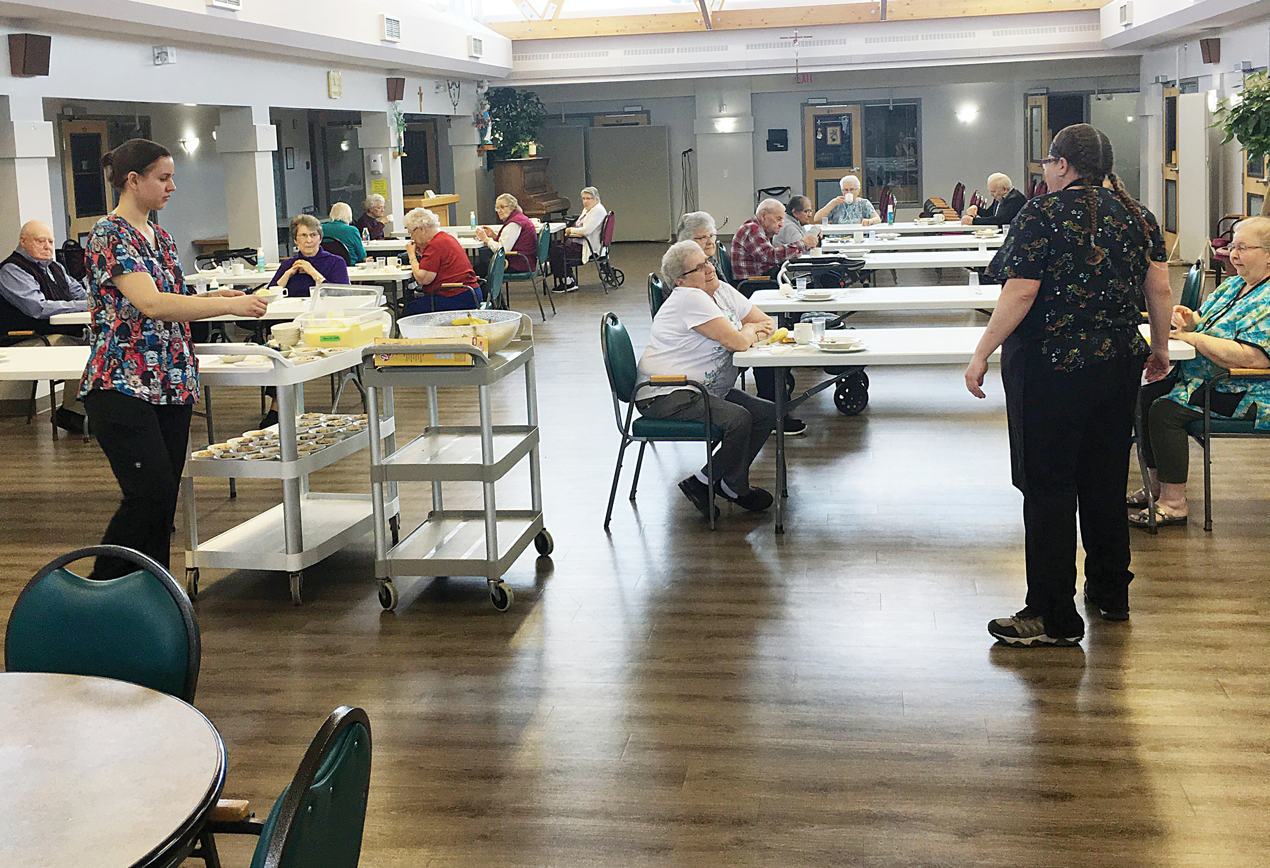 Sunnyside Manor is coping with health directives