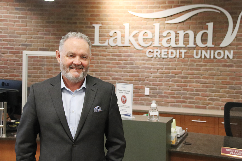 Lakeland Credit Union's new CEO steps up to the plate