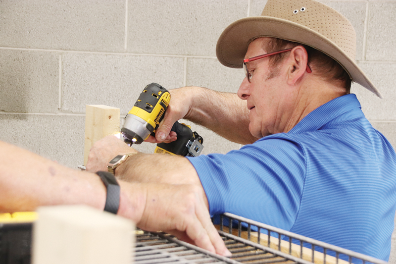 Men at work: Men's Shed opens its doors