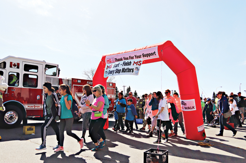 Annual MS Walk will fund multiple sclerosis research, advocacy, and services