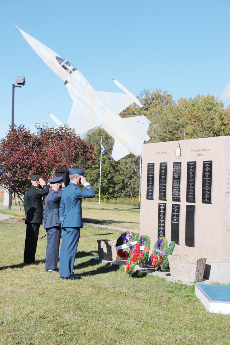 4 Wing commemorates the Battle of Britain